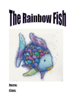 The Rainbow Fish by Marcus Pfister - Activity booklet