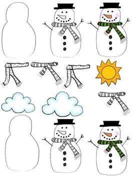 Snow Day Activity: Snow, Snow, Snow