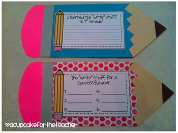 The Write Stuff {Craftivity}