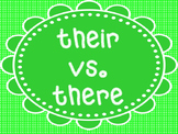 there vs. their