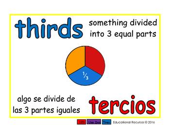 thirds/tercios meas 1-way blue/rojo