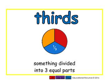 thirds/tercios meas 2-way blue/rojo