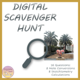 Distance Learning Moles & Stoichiometry - Digital Scavenge