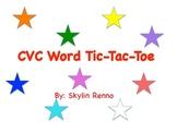 tic-tac-toe with CVC words