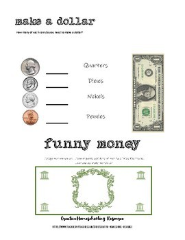 time and money introduction and reinforcements