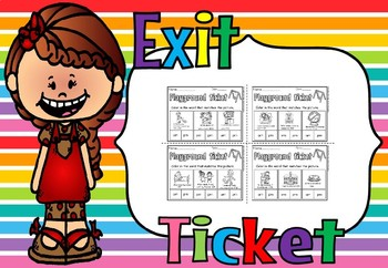 time exit tickets(free sample)