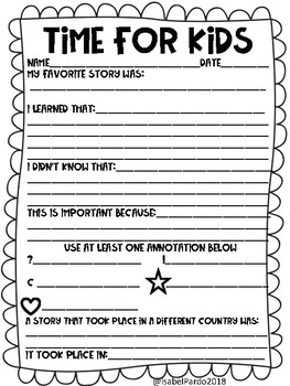 time for kids worksheet by Isa Pardo | Teachers Pay Teachers