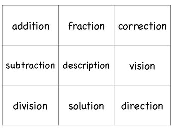 tion or sion? Phonics Activities Aligned with the Orton-Gillingham Approach