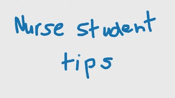 tips for your first day of nursing placement