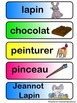Étiquettes mots Pâques