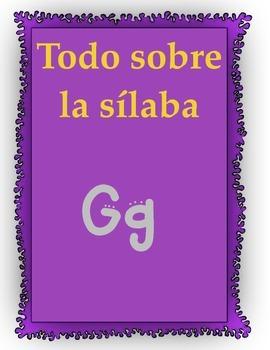 todo sobre la sílaba Gg
