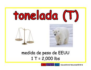 ton/tonelada meas 2-way blue/rojo