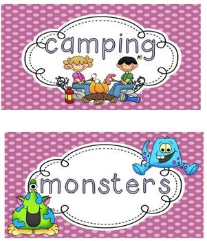 topic cards-writer's workshop