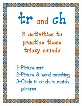tr and ch activities