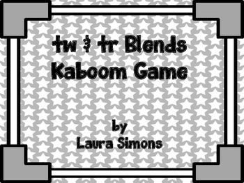tr and tw Blends Kaboom Game