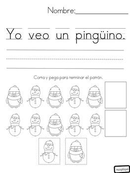 trabajo de la manana enero (january morning work-spanish)