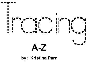 tracing letters a-z