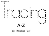 tracing letters a-z smartboard