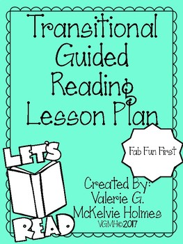 transitional guided reading lesson plan