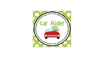 transportation labels and matching blank editable labels