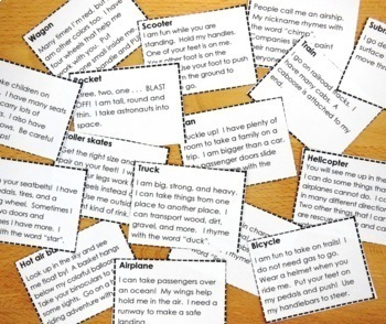 Let's Go Bingo Bundle - {Things That Go Theme}
