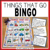Let's Go Bingo Bundle - {Things That Go Theme}