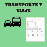 transporte y viajes / transport and travel in spanish