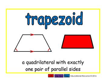 trapezoid/trapecio geom 2-way blue/rojo