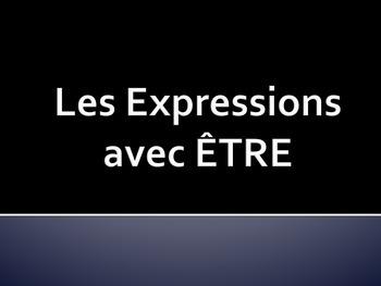 Être & Faire Expressions