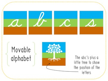 tree letters