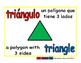 triangle/triangulo geom 1-way blue/rojo