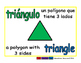 triangle/triangulo geom 1-way blue/verde