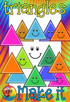 triangles make your own clip art(FREE- FREEDBACK CHALLENGE)