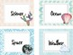 Editable Cactus Theme Classroom Library Labels