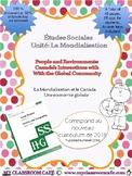 Études Sociales: La Mondialisation et le Canada 2018