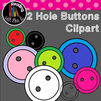 Two Hole Round Buttons