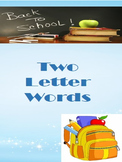 two letter words