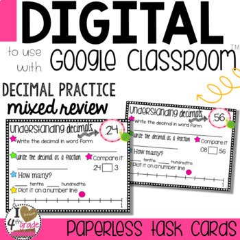 DECIMAL Practice to use with Google Classroom