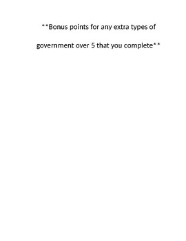 types of government review