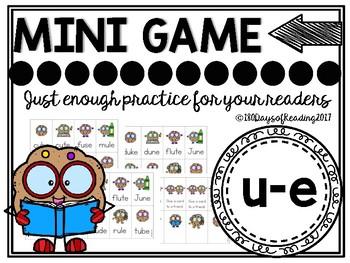 u-e Magic E Phonics Game