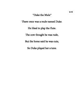 u-e poem