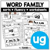 UG Word Family Activities