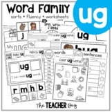 UG Word Family Activities