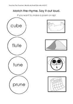 u_e long u magic e worksheets