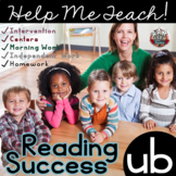 ub Word Family: Intervention, Homework, Morning Work, Centers,