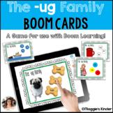 CVC Boom Cards for ug Words