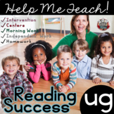 ug Word Family: Intervention, Homework, Morning Work, Centers,