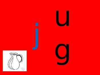 ug word family- QLD FONT (Australian Curriculum)