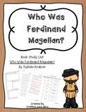 Guided Reading: Who Was Ferdinand Magellan- Common Core, No Prep, Printables