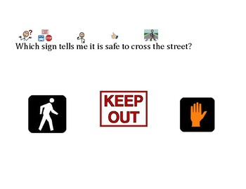 unctional Words & Survival Signs Walk, Don't Walk, Keep Out, Do Not Enter